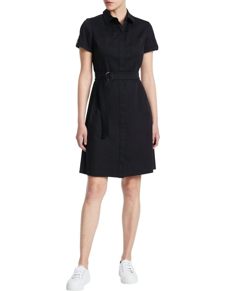 Cate Stretch Sateen Dress image 1