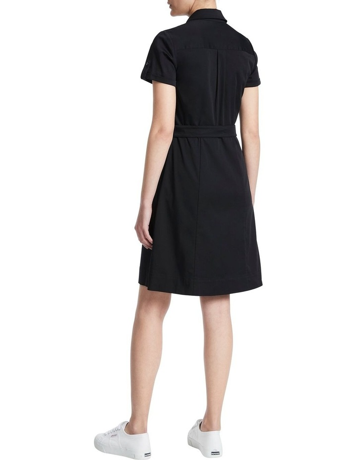 Cate Stretch Sateen Dress image 3