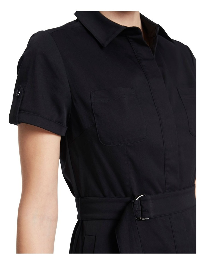 Cate Stretch Sateen Dress image 4