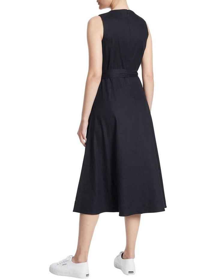 Eva Stretch Linen Dress image 3