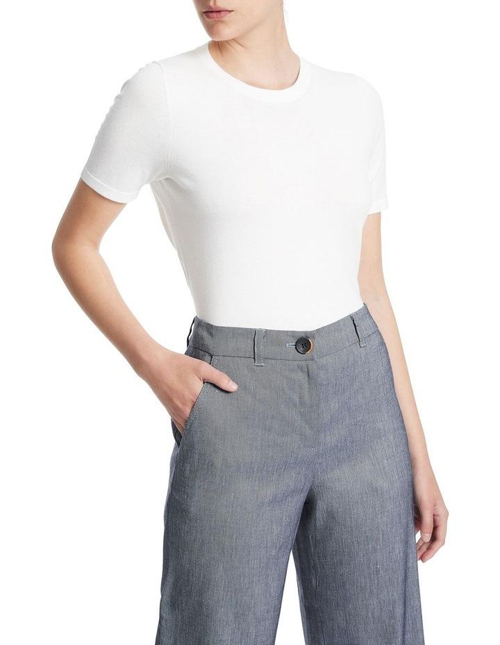Short Sleeve Knit Tee image 1