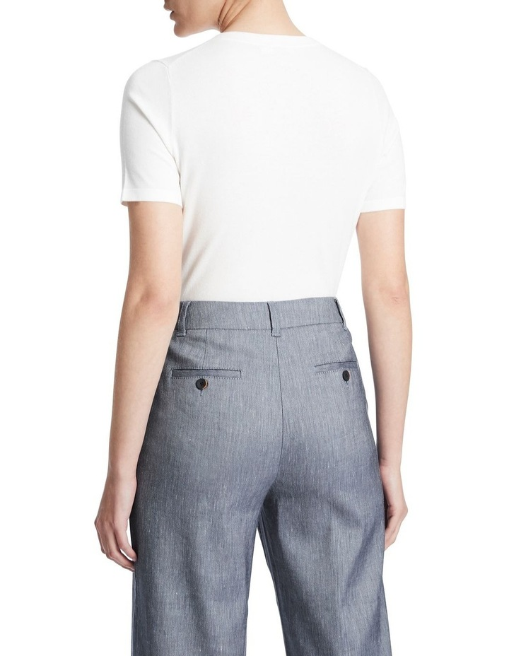 Short Sleeve Knit Tee image 3