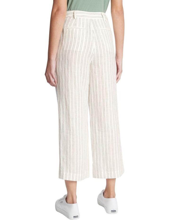 Percy Stripe Linen Culotte image 3