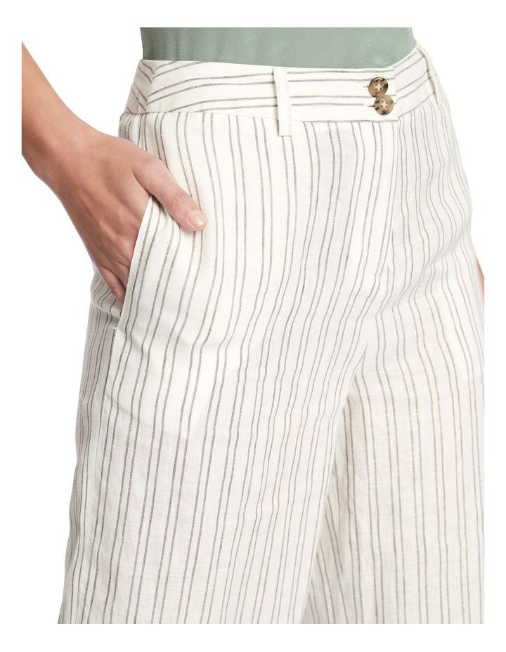 Percy Stripe Linen Culotte image 4