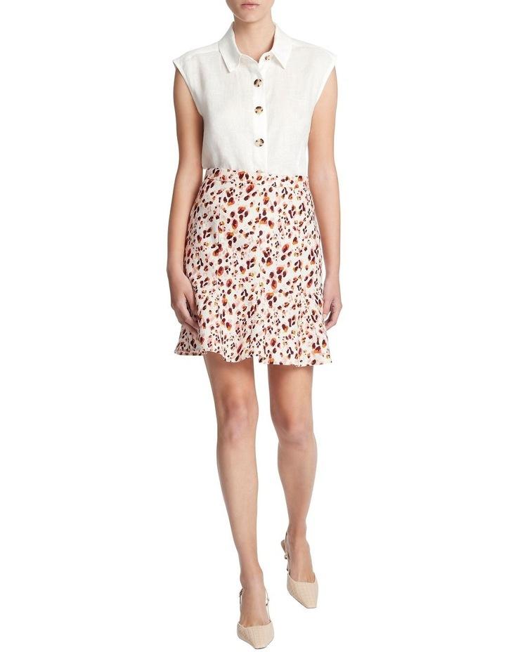 Sleeveless Linen Shirt image 1