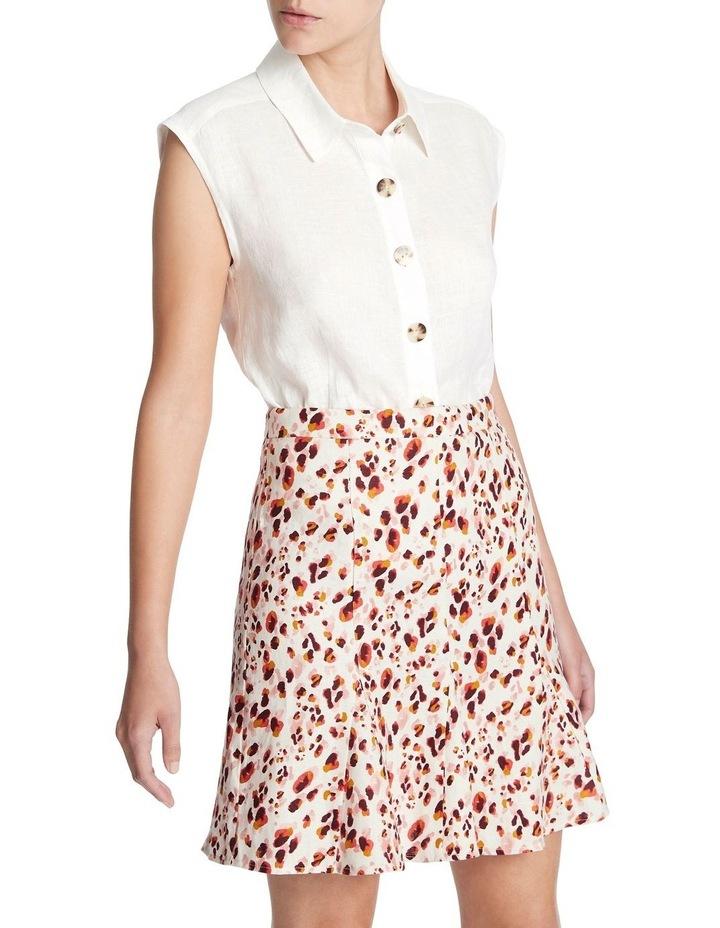 Sleeveless Linen Shirt image 2