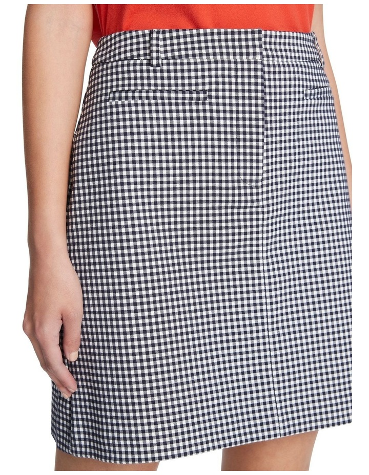Go Gingham Mini Skirt image 4