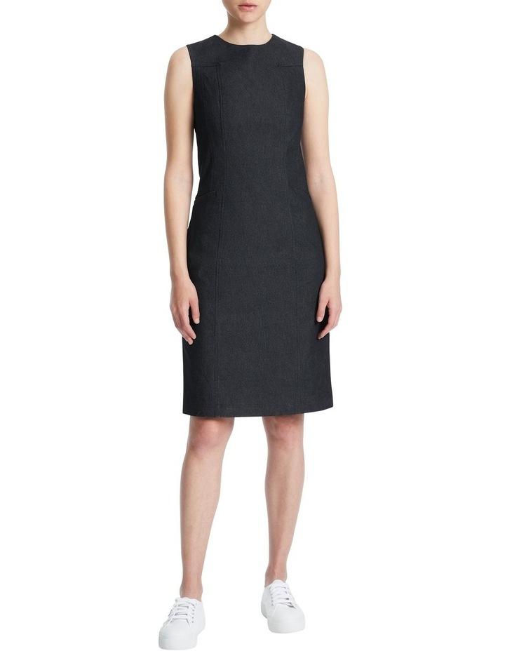Maia Smart Denim Dress image 1