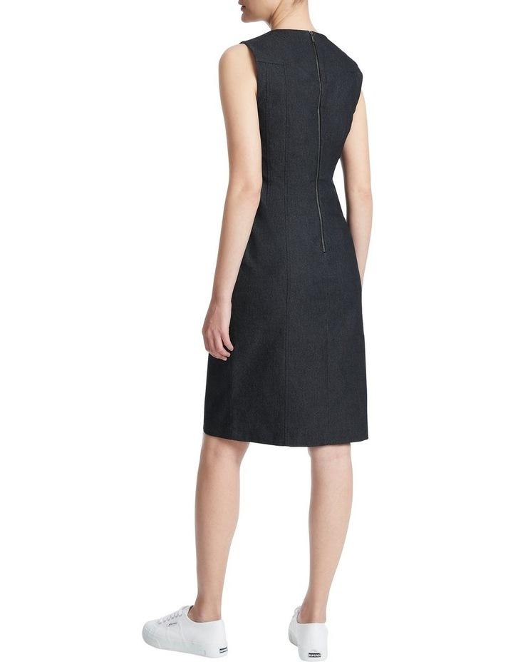 Maia Smart Denim Dress image 3