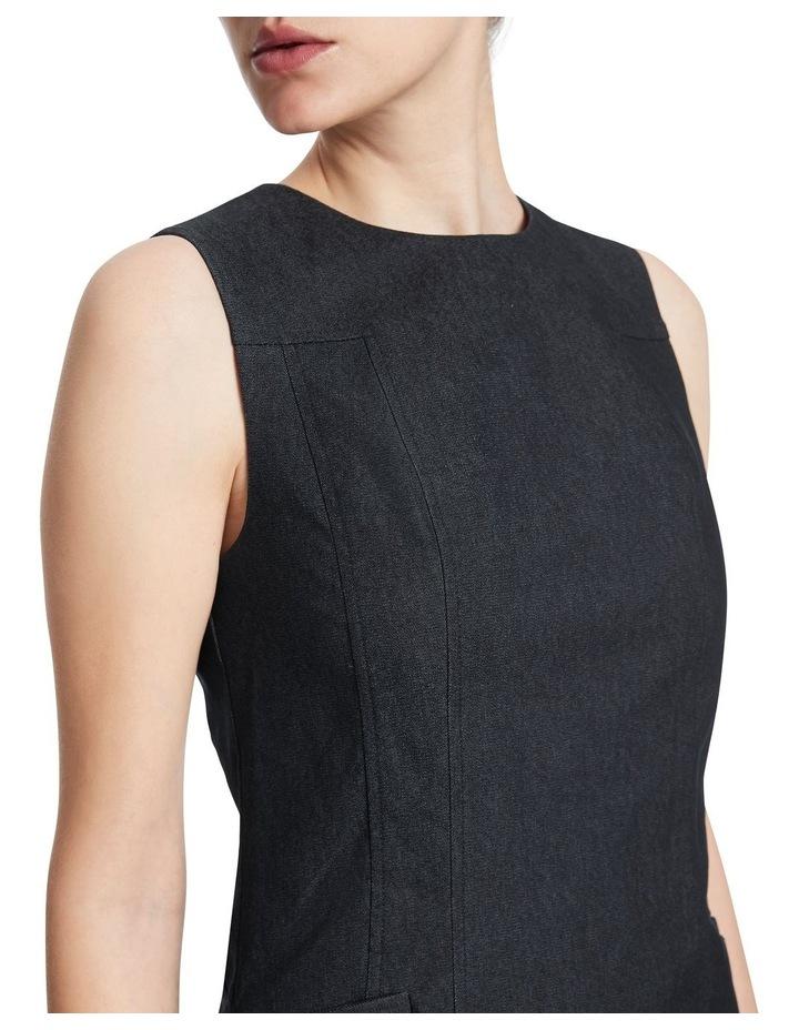 Maia Smart Denim Dress image 4
