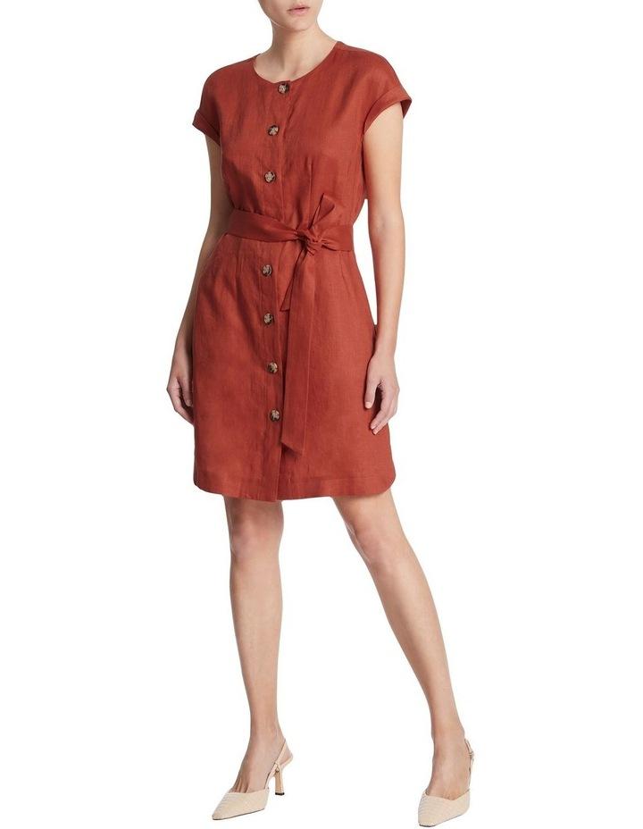 Button Front Linen Dress image 2