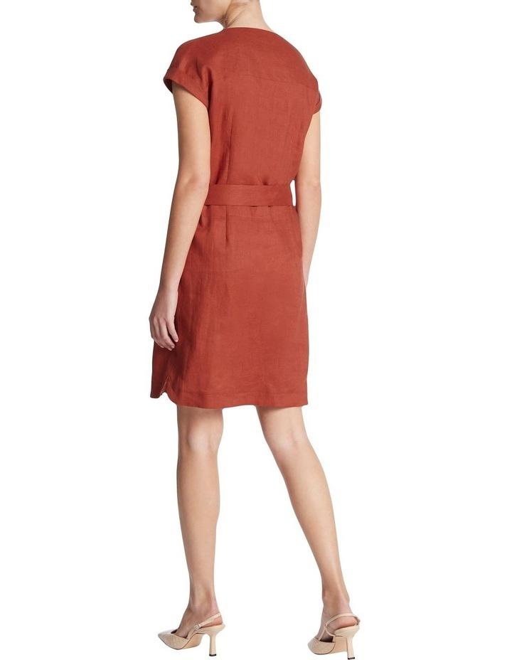 Button Front Linen Dress image 3