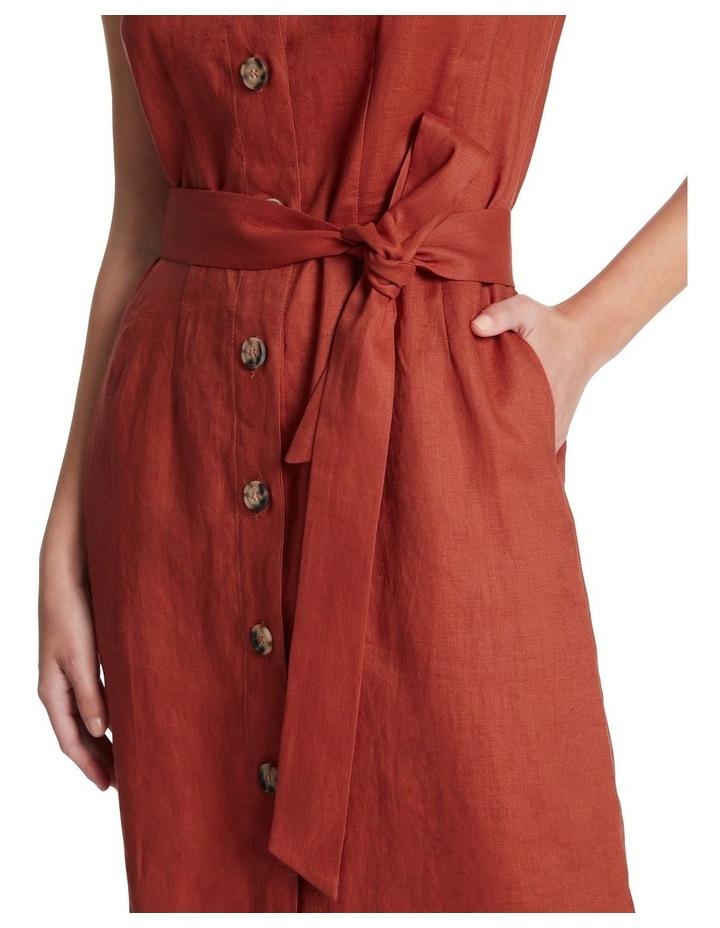 Button Front Linen Dress image 4