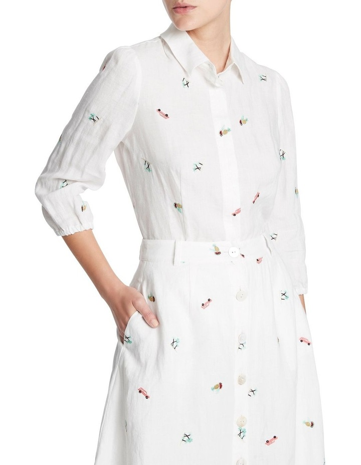 Pina Colada Embroidered Shirt image 2