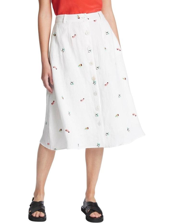 Pina Colada Embroidered Skirt image 2