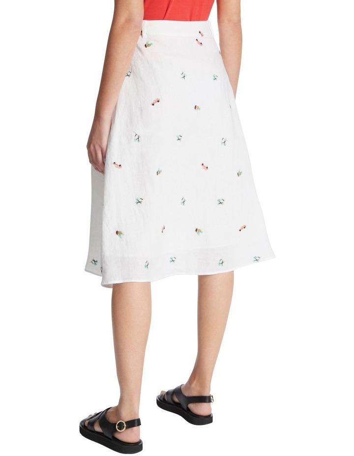 Pina Colada Embroidered Skirt image 3