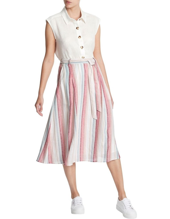 Rainbow Stripe Skirt image 1