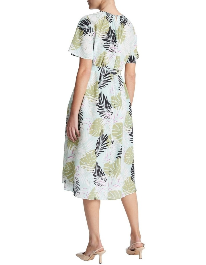 Leafy Views Silk Dress image 3
