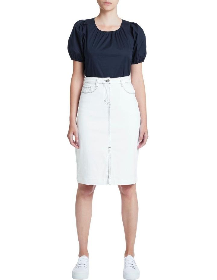 Tanya Denim Midi Skirt image 1