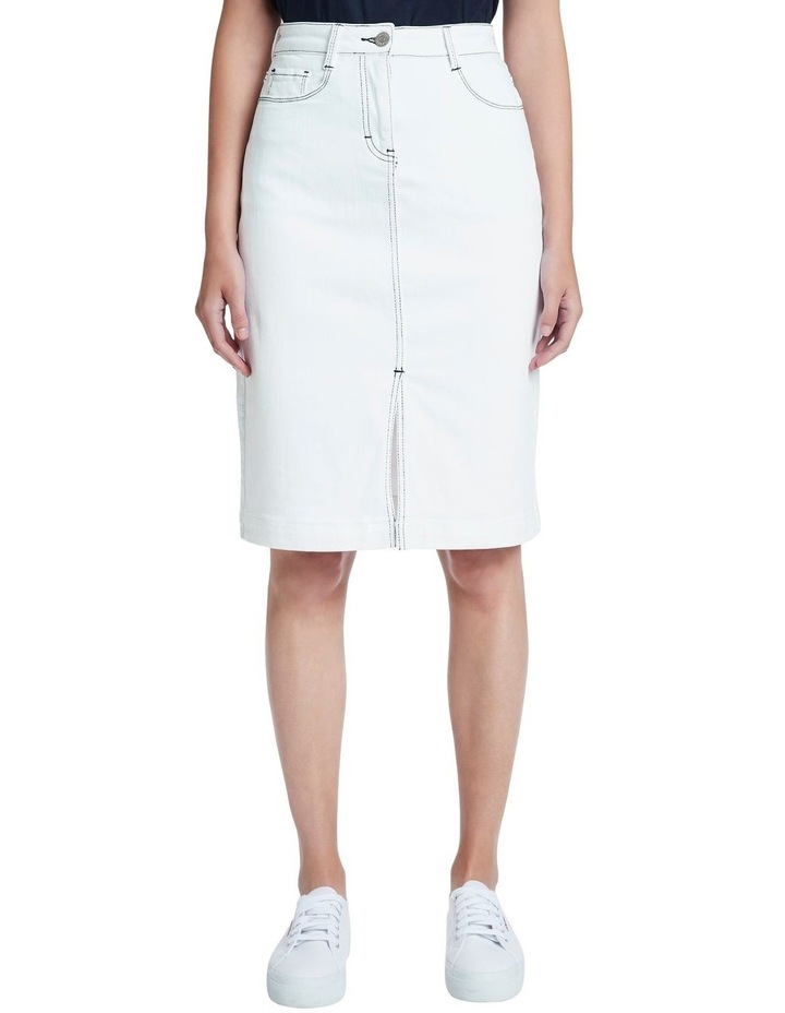 Tanya Denim Midi Skirt image 2