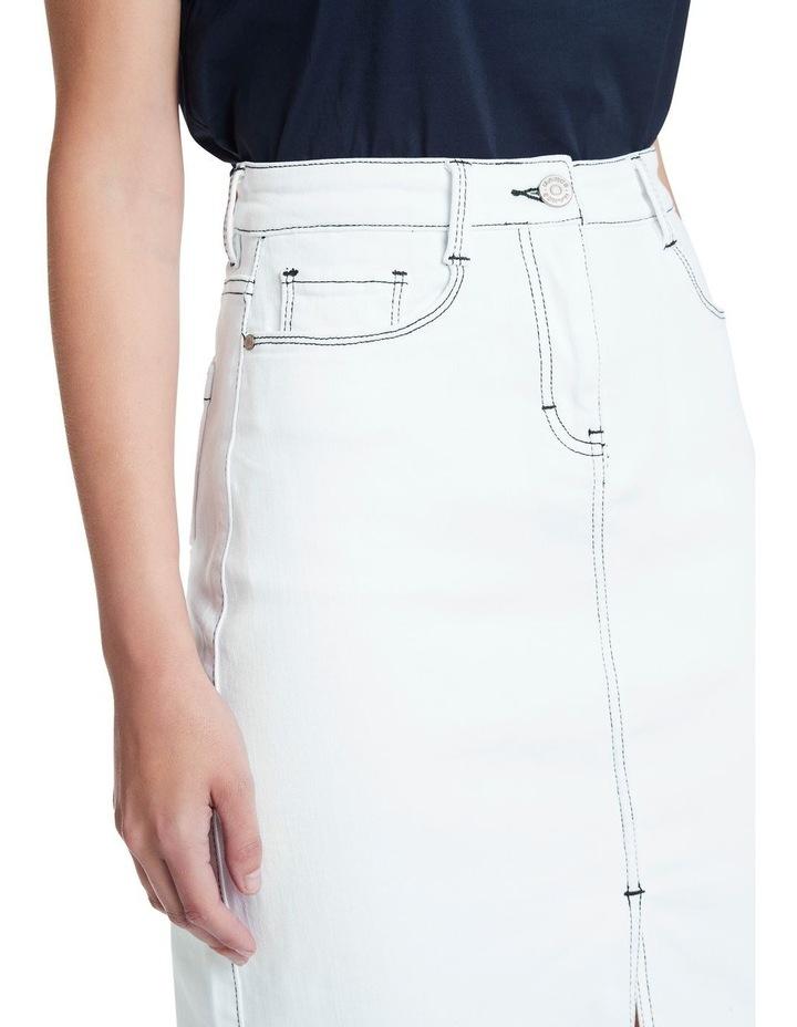 Tanya Denim Midi Skirt image 4