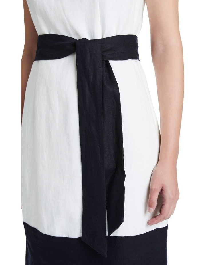 Colour Block Linen Dress image 4