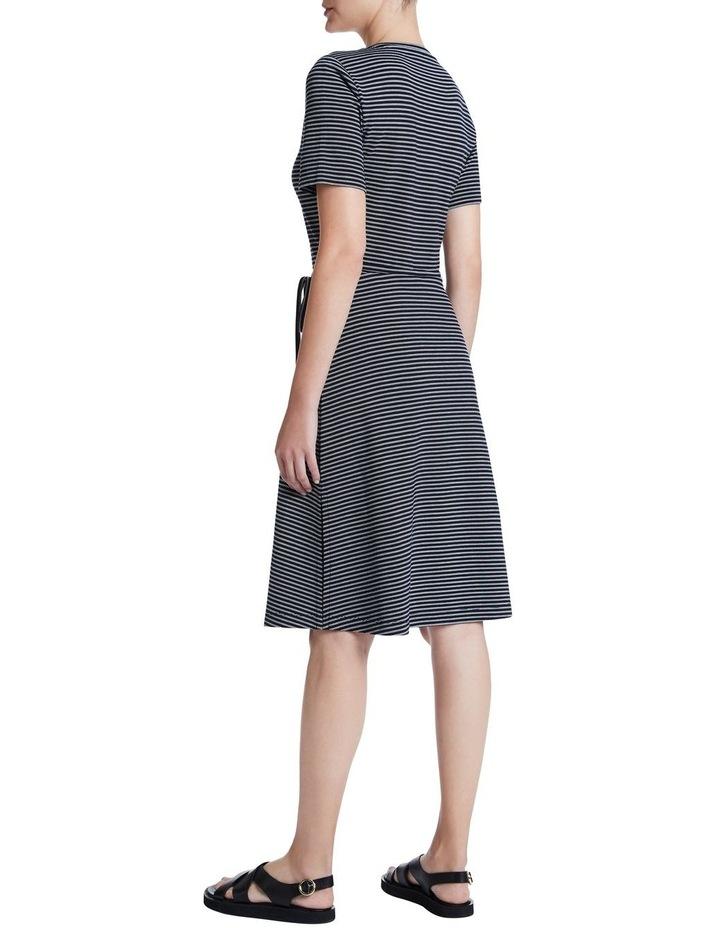 Ponte Stripe Dress image 3