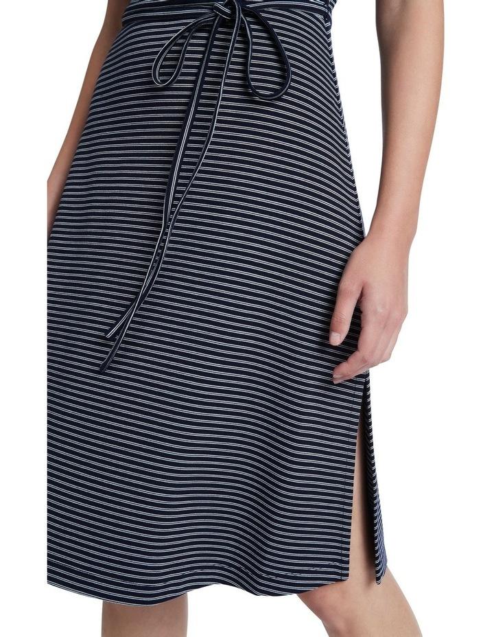 Ponte Stripe Dress image 4
