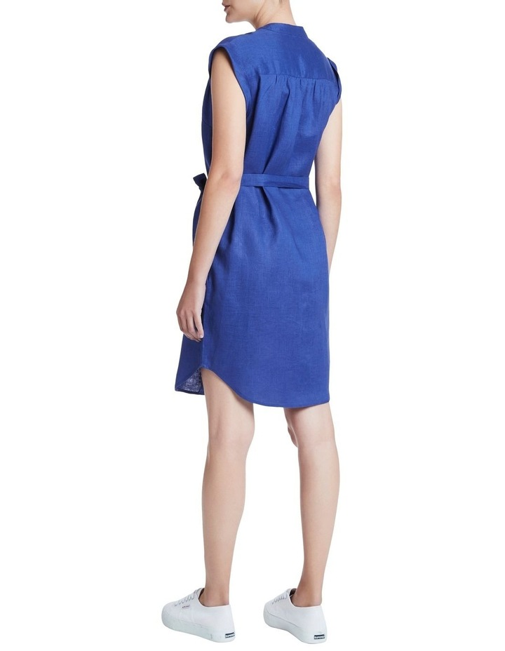 Sapphire Washed Linen Dress image 3