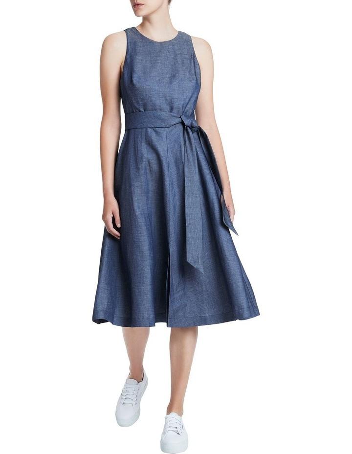 Chambray Midi Dress image 1