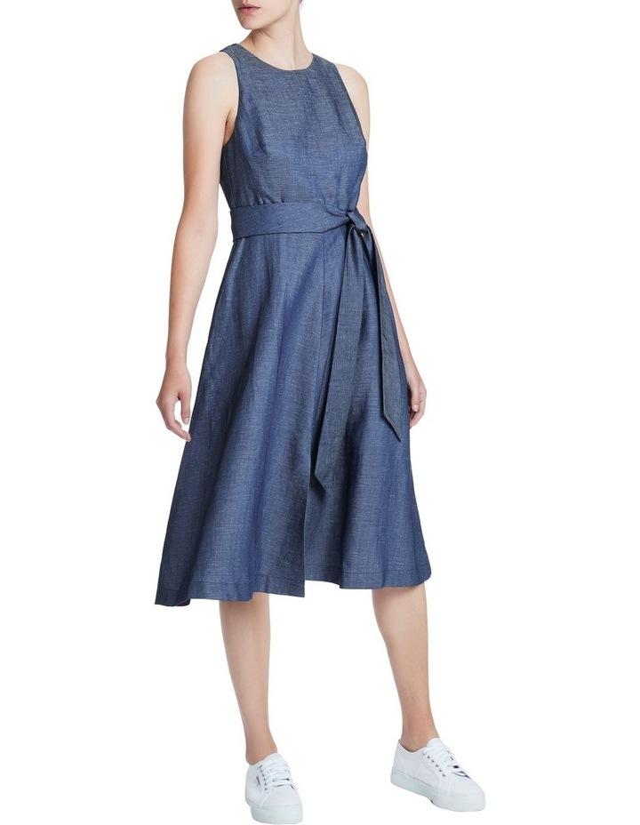 Chambray Midi Dress image 2
