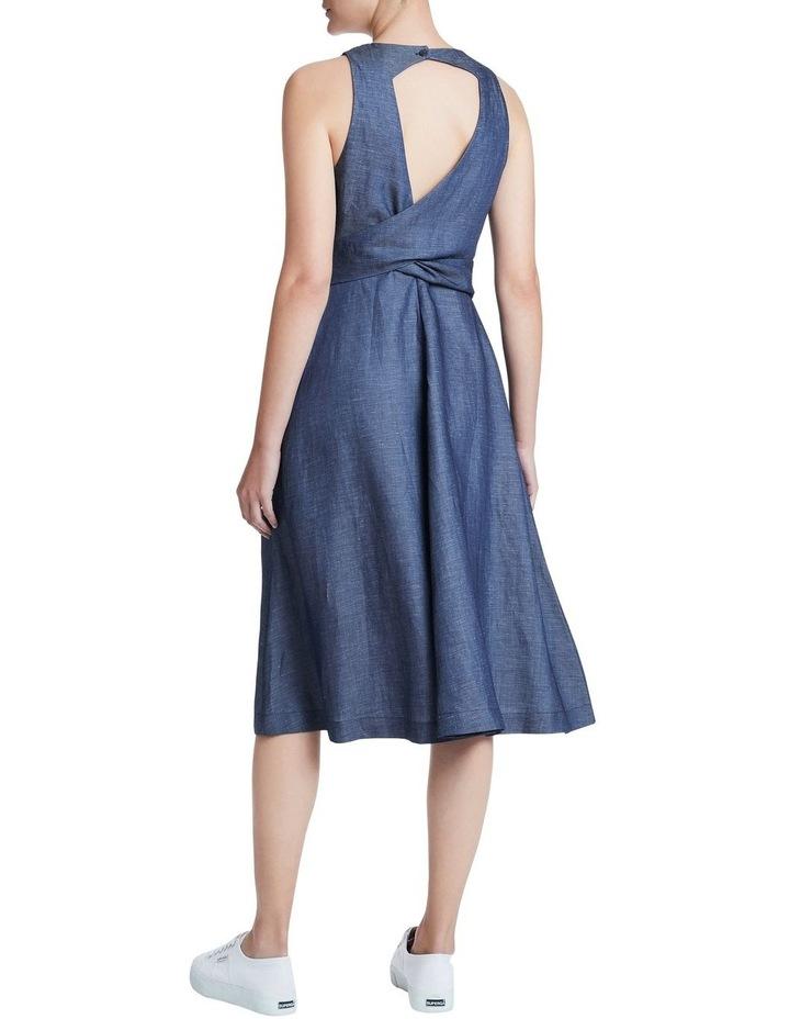 Chambray Midi Dress image 3