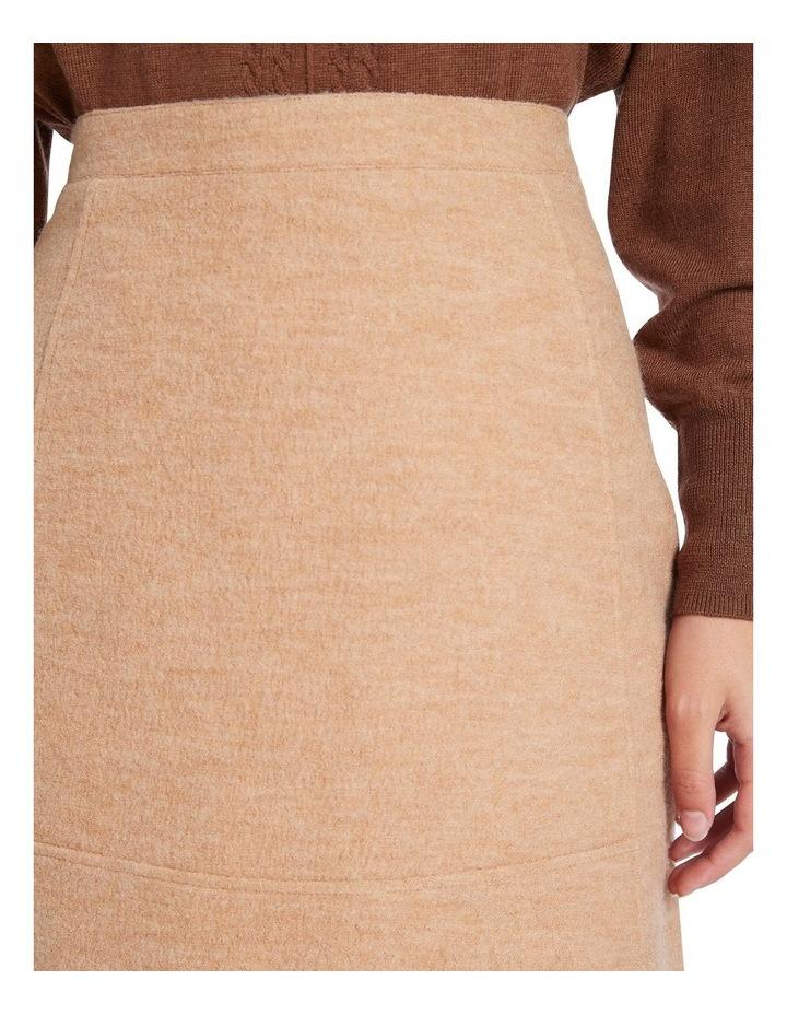 Felted Wool Mini Skirt image 4