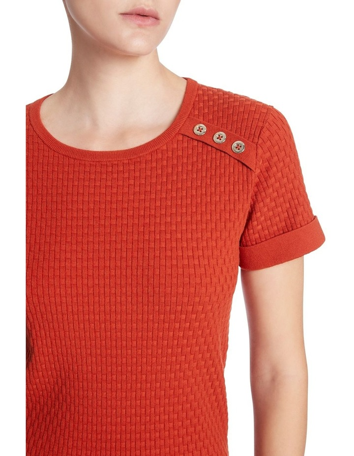 Jean Button Knit image 4
