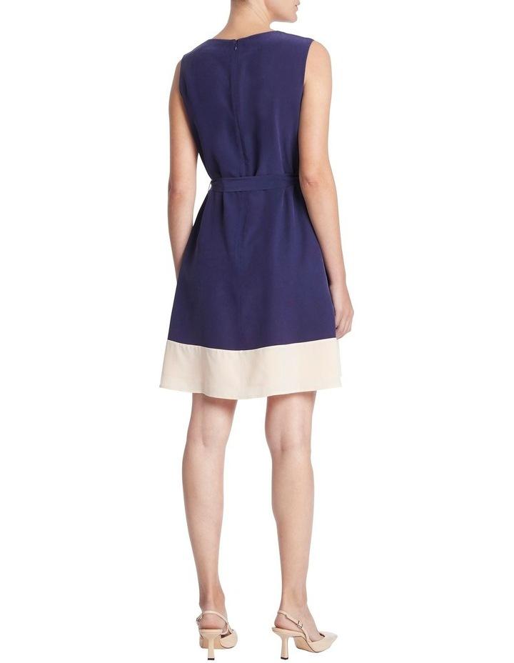 Colour Block Silk Dress image 3