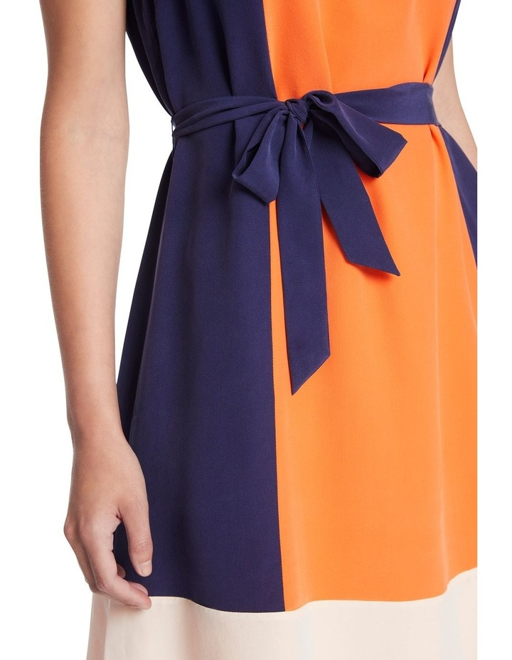 Colour Block Silk Dress image 4