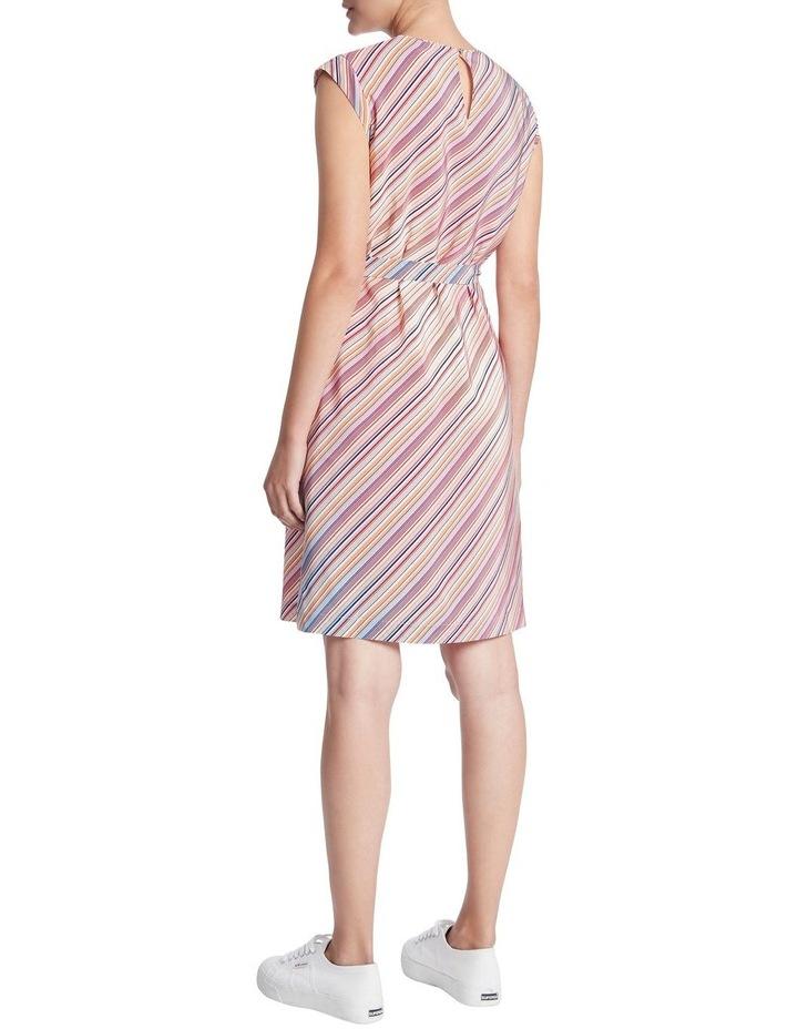 Retrostripe Silk Dress image 3