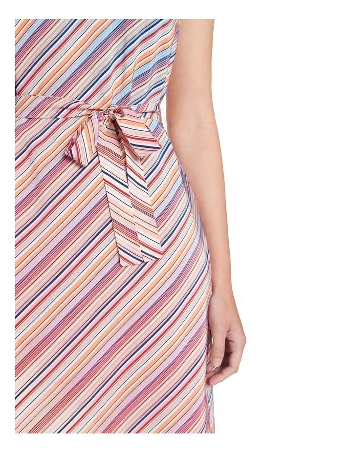 Retrostripe Silk Dress image 4
