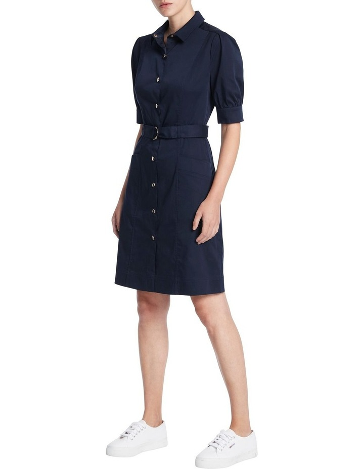 Cate Pleat Sleeve Shirt Dress image 2