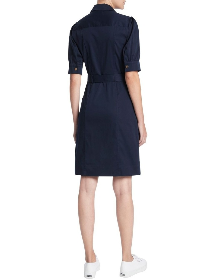 Cate Pleat Sleeve Shirt Dress image 3