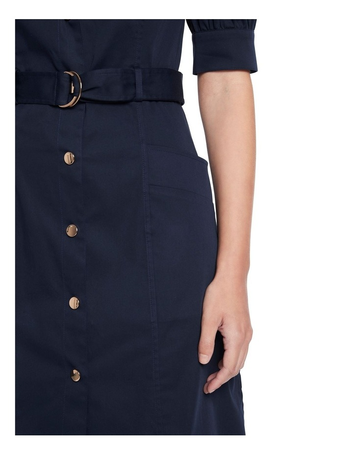 Cate Pleat Sleeve Shirt Dress image 4