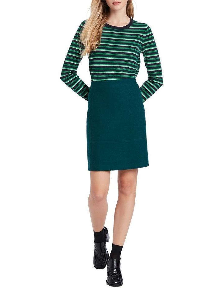 Felted Wool Mini Skirt image 2