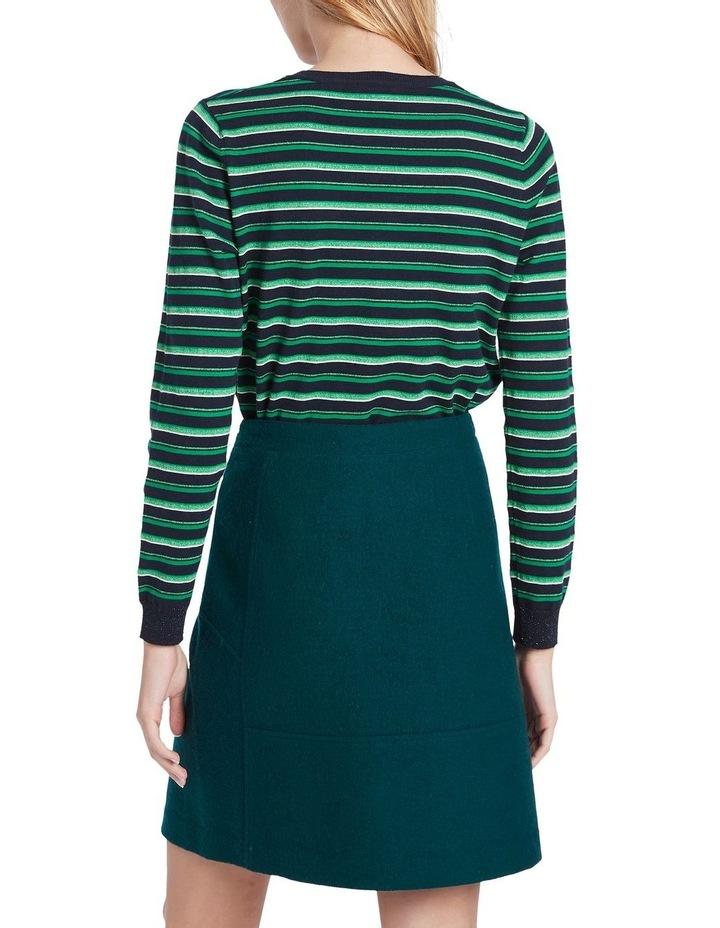 Felted Wool Mini Skirt image 3