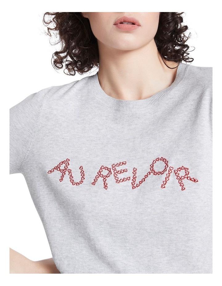 Au Revoir Embroidery Knit image 4