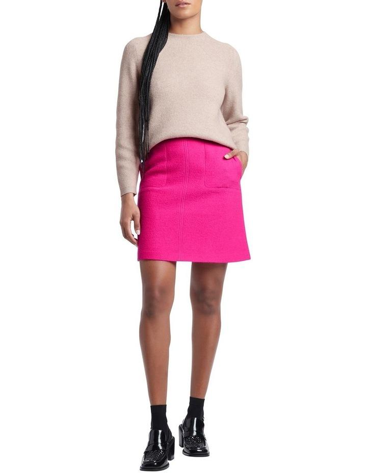 Sierra Felted Wool Mini Skirt image 1