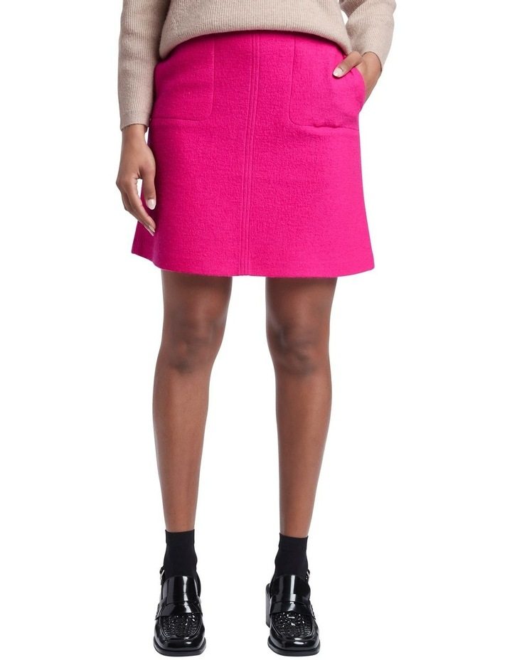Sierra Felted Wool Mini Skirt image 2