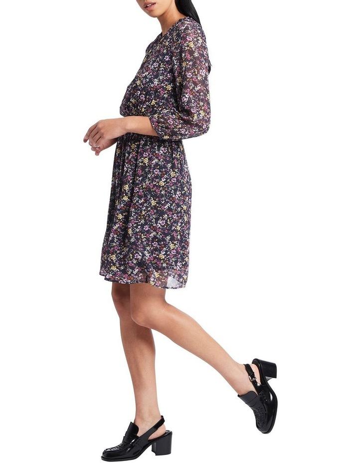 Hello Petal Printed Silk Dress image 2