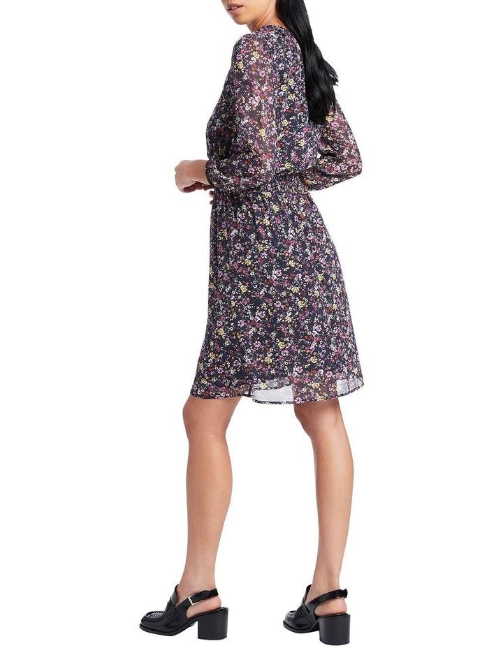 Hello Petal Printed Silk Dress image 3