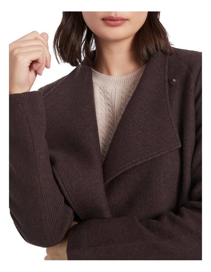 Ruby Felted Wool Coat image 4