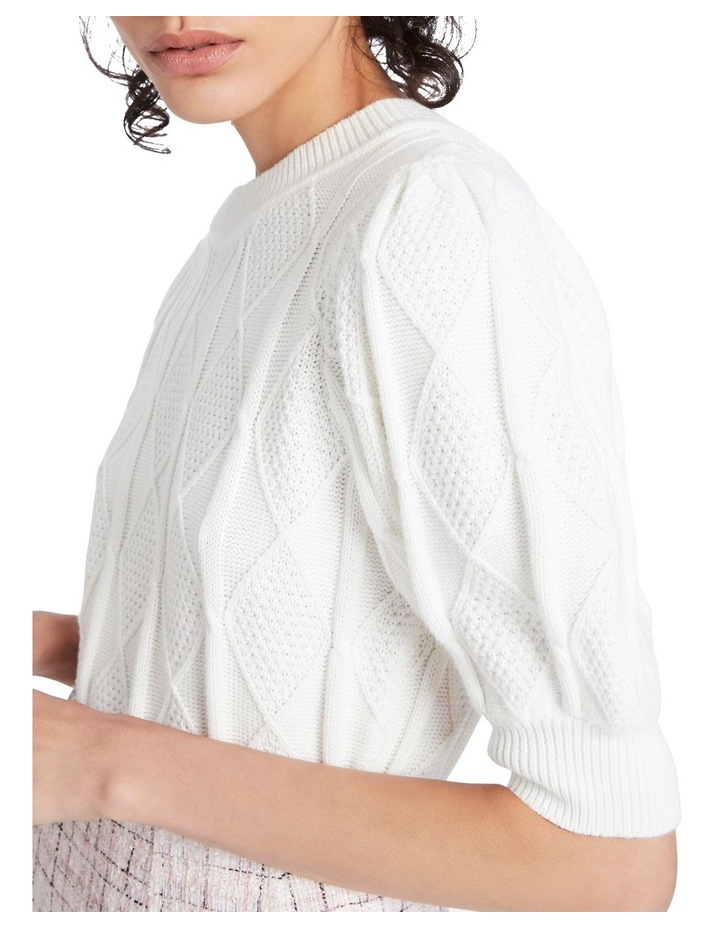 Ivory Cable Knit image 4
